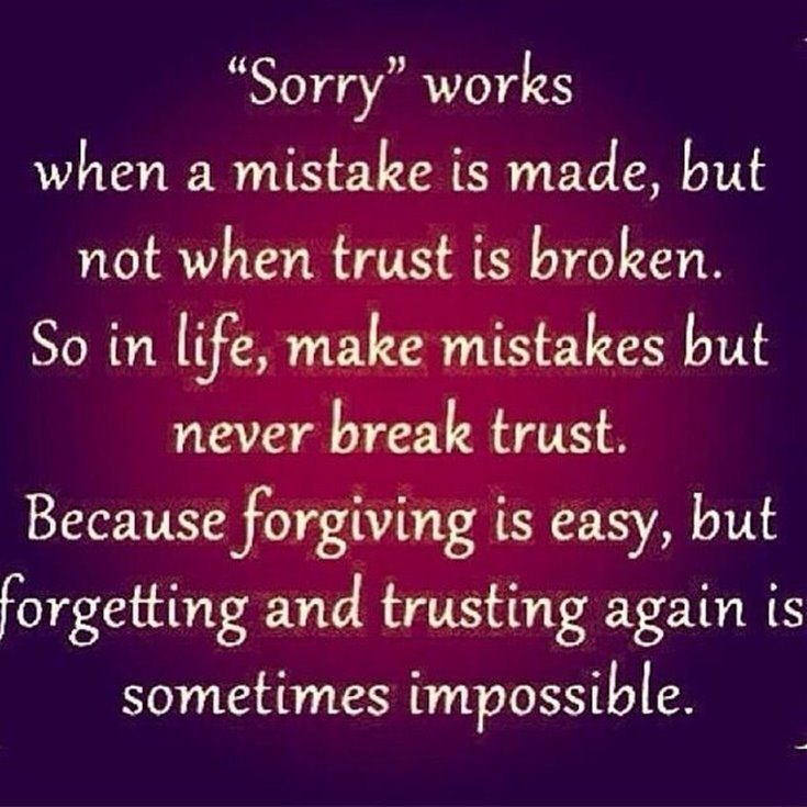 Quotes About Broken Trust 1