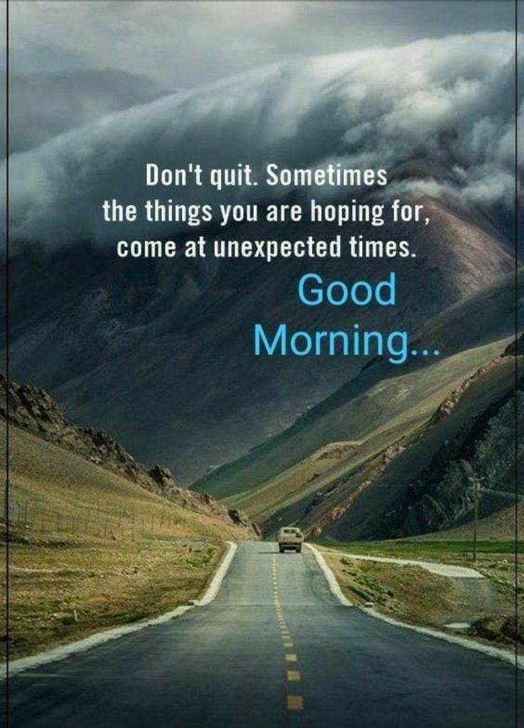 35 Amazing Good Morning Quotes and Wishes with Beautiful Images 35