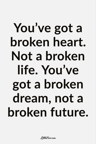 Heartbroken quotes about break up heart