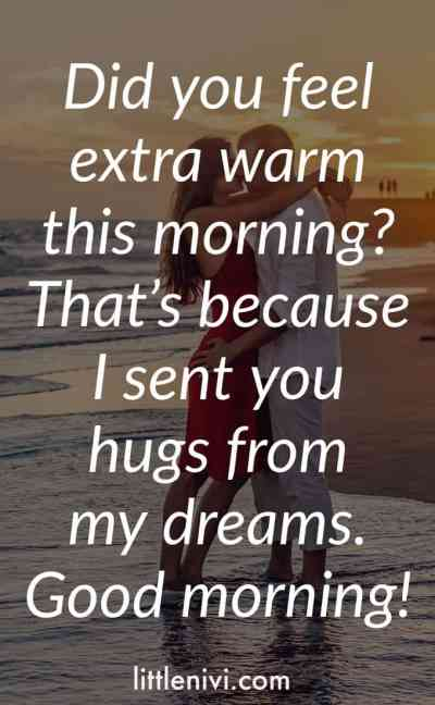 Romantic good morning quotes for him good morning messages