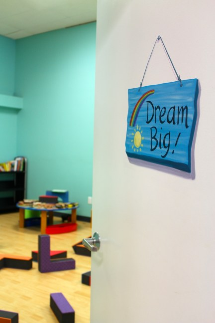 "The ""Dream Big!"" room will be my teaching area! I will assist parents-to-be in their dreaming, living, and doing."