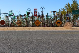 Our first stop was the Bottle Tree Ranch.