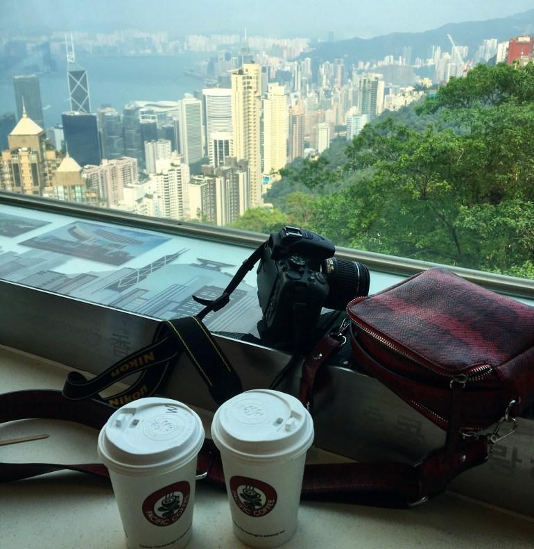 PACIFIC CAFE AT VICTORIA PEAK - HONG KONG