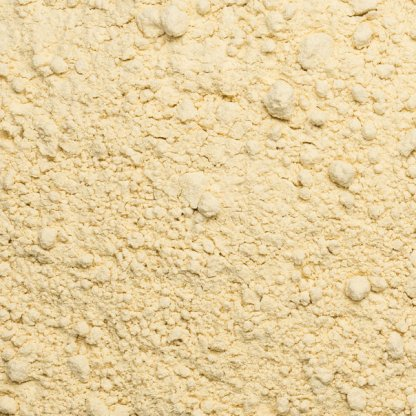 close up of wheat gluten organic
