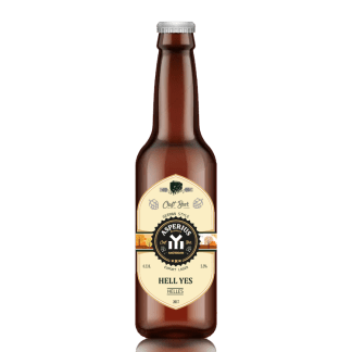 Craft Beer Helles Pale Lager – Hell Yes (Asperius)