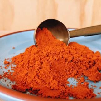 Cayenne Poeder Bio. Cayenne Pepper Ground Organic. Natuurwinkel