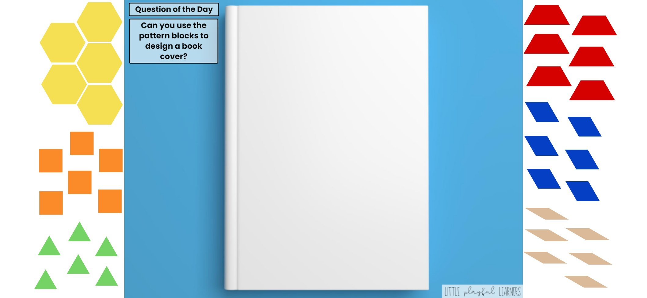 Seesaw: Pattern block challenge - booktheme