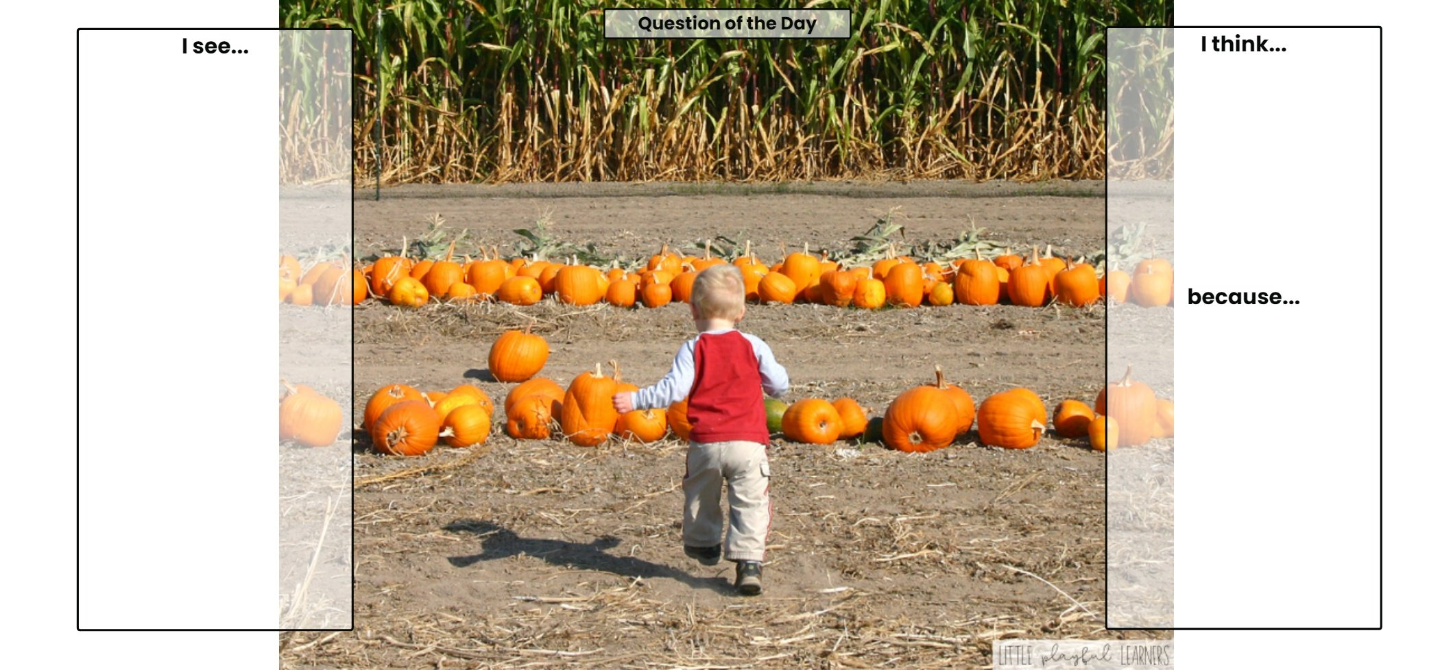 Seesaw: Making Inferences - pumpkin theme
