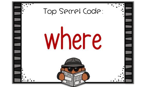 Top Secret Code Signs