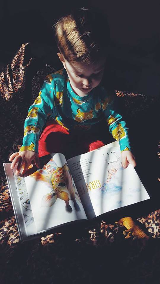 book review-animals under the bed-meg smiley-product review-giraffe-watercolor painting