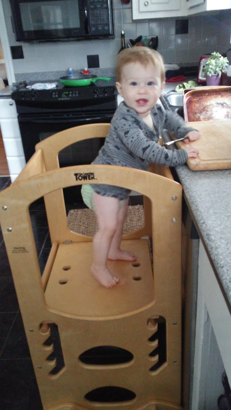 baby kitchen helper