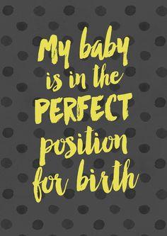 baby birth natural