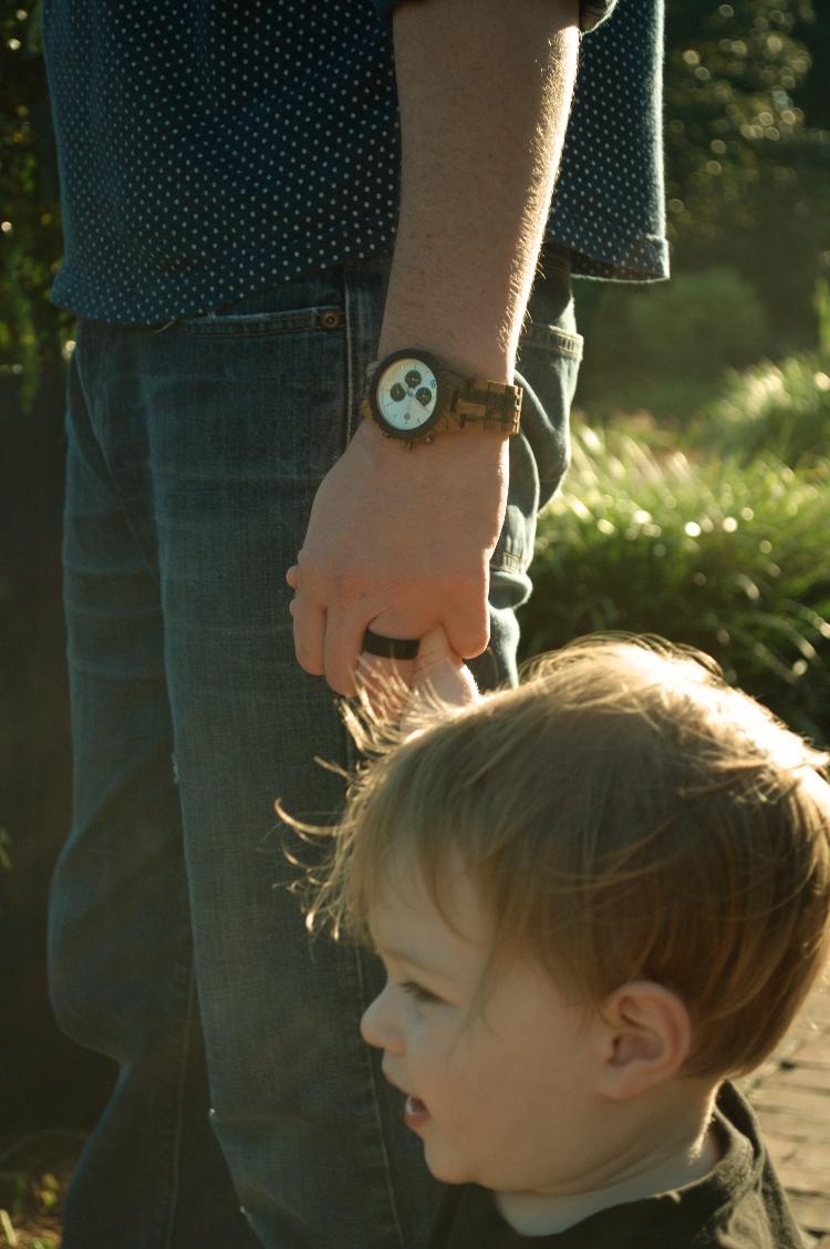 men's unique wooden watch