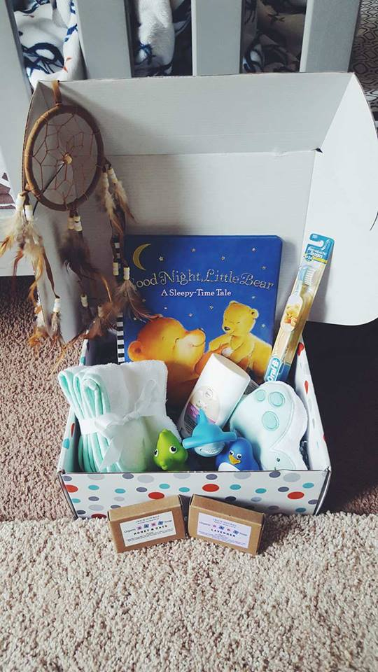 baby bedtime box subscription toddler sleep sleeping routine