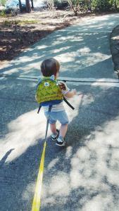 toddler leash-baby harness-kids backpack-giraffe print-gabby box-i never-
