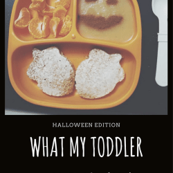 What My Toddler Ate This Week: Halloween Edition