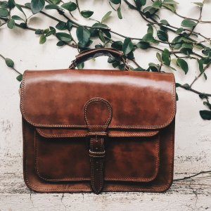 leather bag-mens briefcase