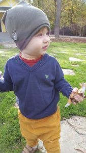 pintsize-toddler clothes-slouchy beanie-sensory friendly
