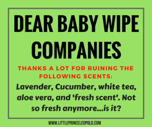 baby wipes-scented wipes-diaper changing