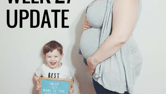 Baby Number 2: Week 27 Update