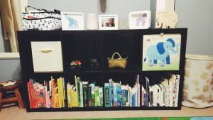 child's room organization