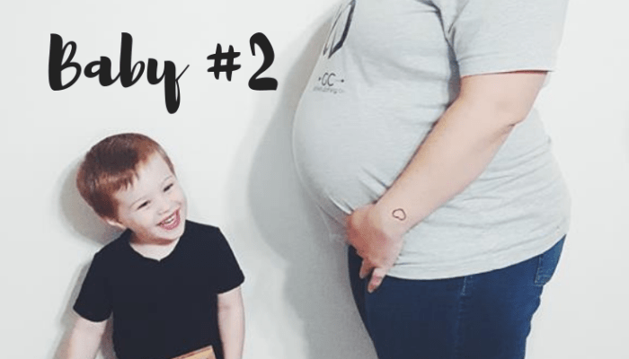 38 Weeks Pregnant with Baby #2