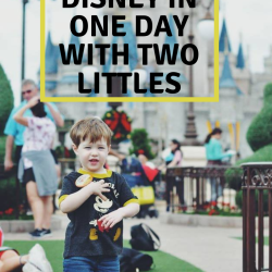 Doing Disney in One Day with Two Littles