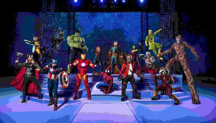 Marvel Universe LIVE! Age of Heroes at the Colonial Life Arena