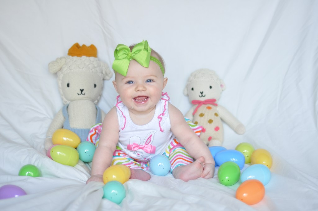 cuddle and kind-baby girl-easter gifts-happy easter-