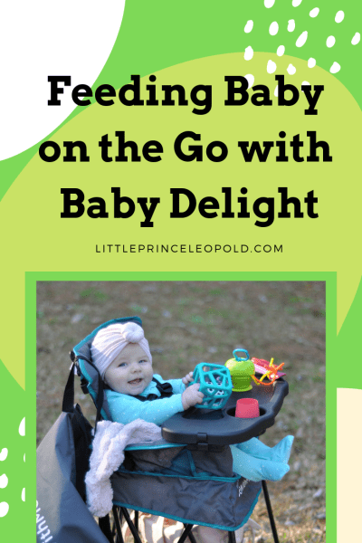 five month old baby in high chair-travel gear high chair that folds up such as a camping chair-baby girl in a turban-feeding little ones-baby delight