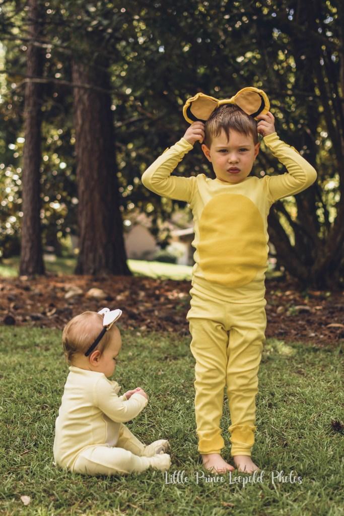 simba and nala the lion king halloween costumes