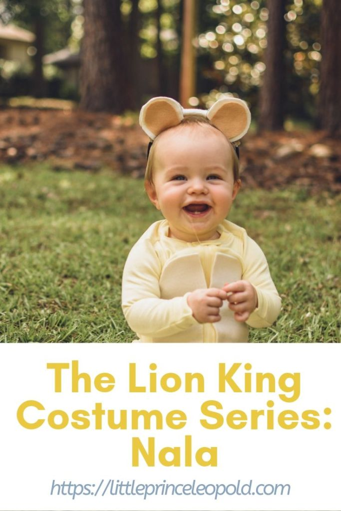 nala costume diy halloween lion king