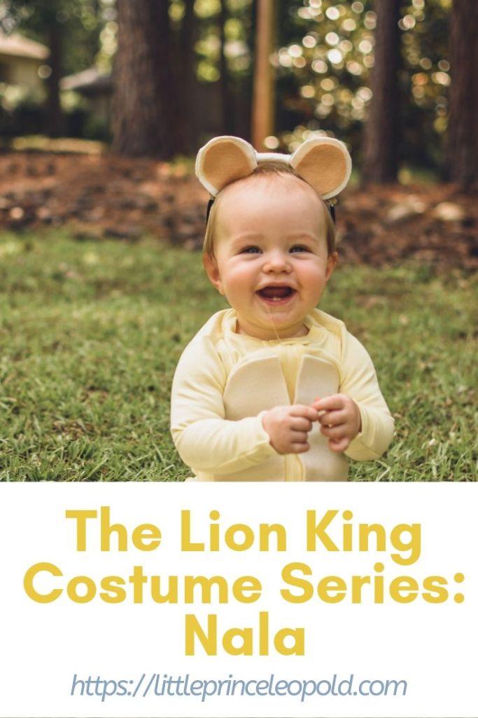 nala costume diy halloween lion king