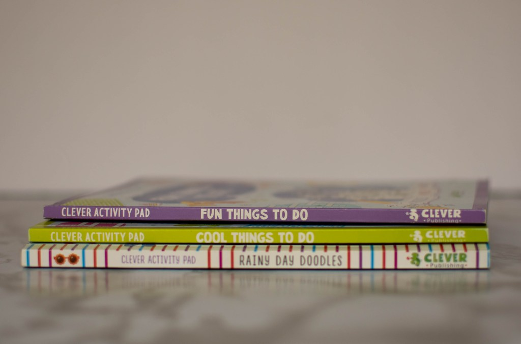 clever activity books
