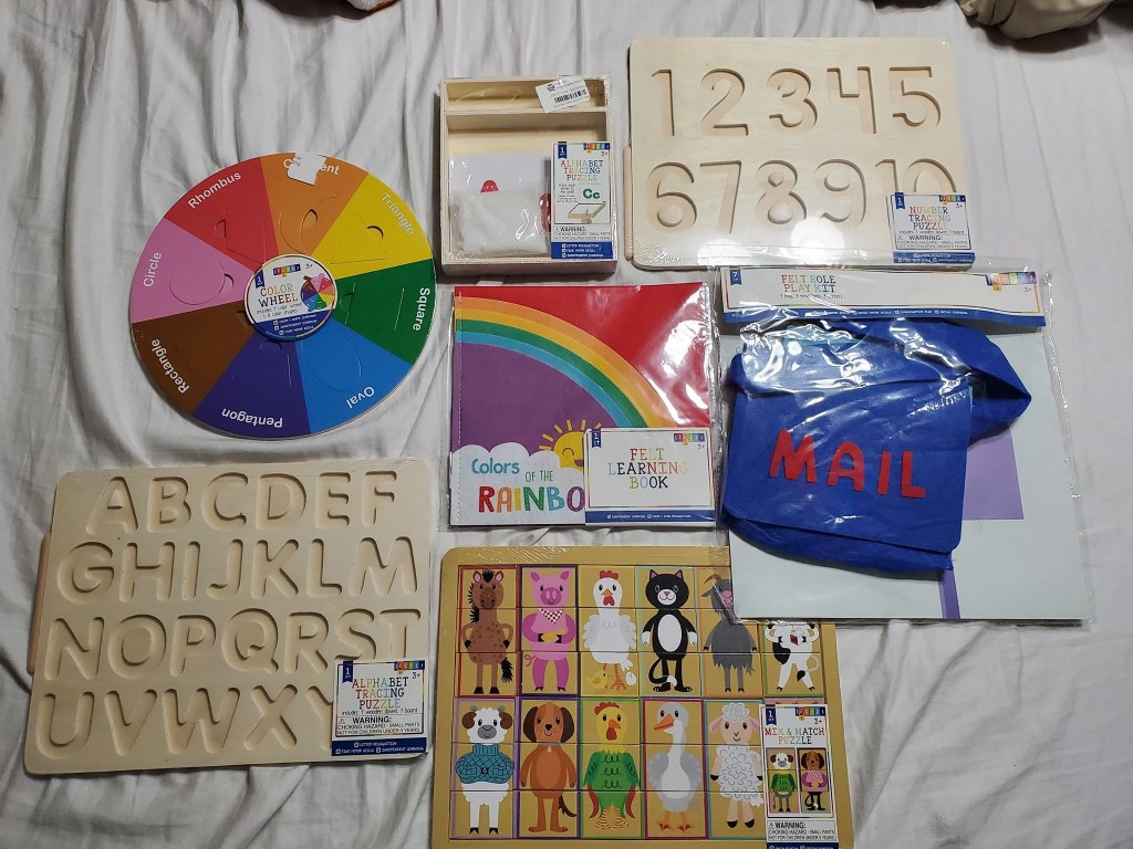 target dollar spot - wooden toys -mercari - sale app