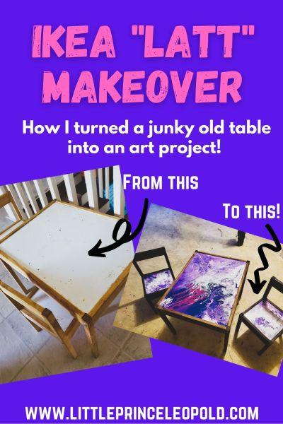kids table-ikea latt-ikea hacks-resin art-furniture repurpose-