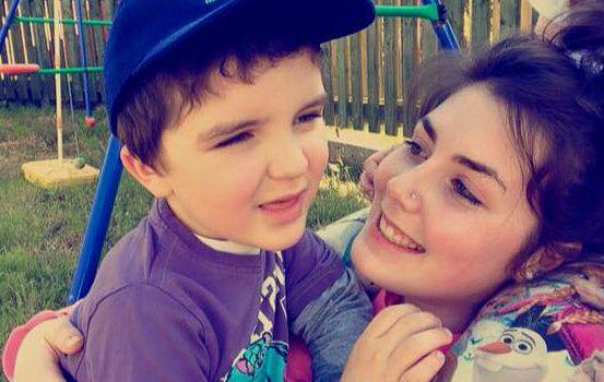 Conor with his Aunty Victoria.x