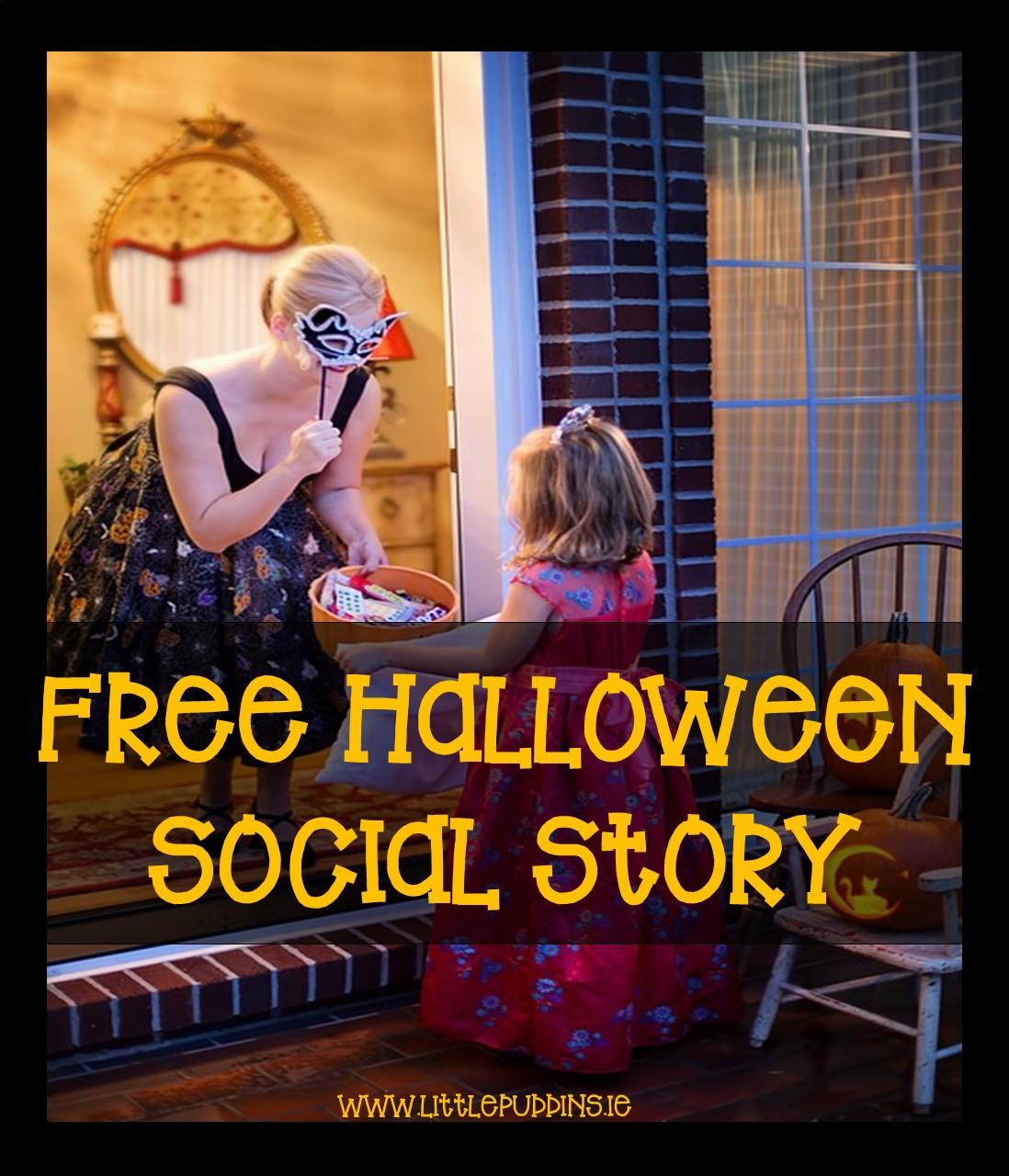 FREE Halloween Social Story
