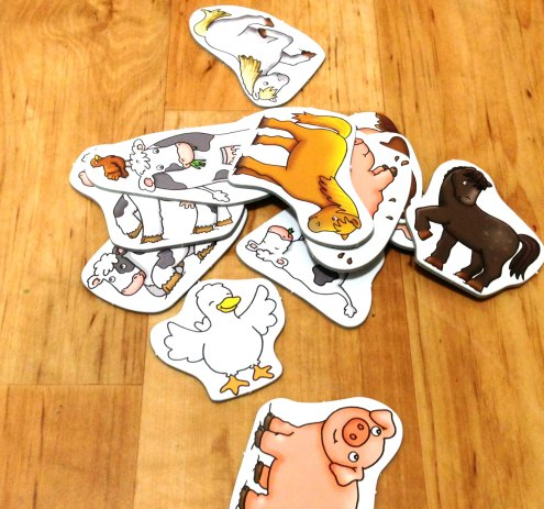 Lots of super cute Animal Shapes to keep them busy.x