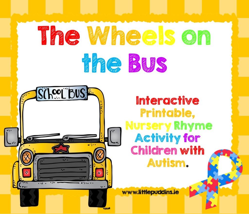 Wheels on the Bus Free Printable
