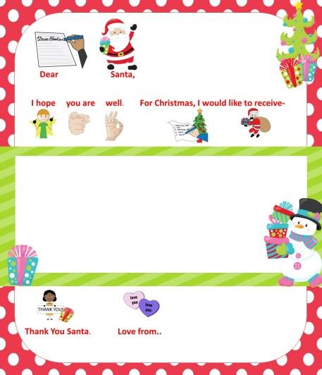 Autism Santa Letter