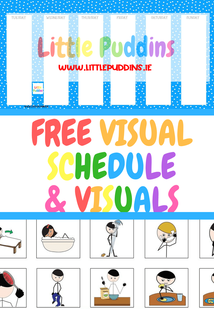 Free Printable Visual Schedule
