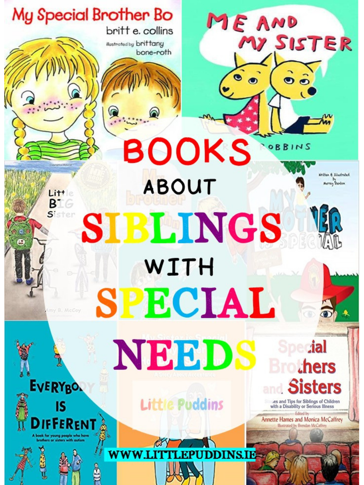 Books about Siblings with disabilities