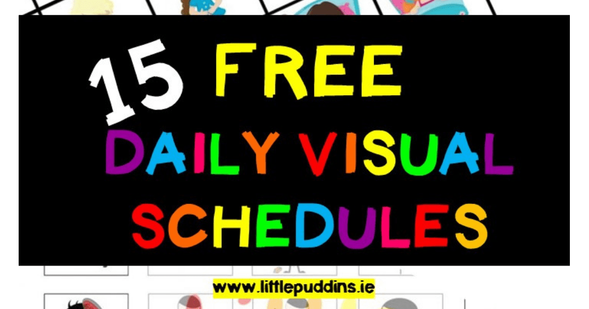 free-visual-schedule