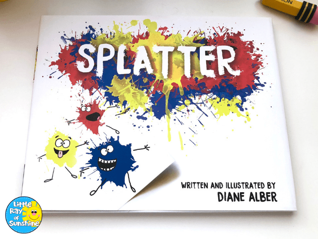 SPLATTER book by Diane Alber