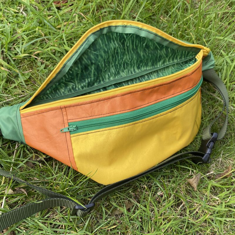 Bumbag Orange/Green