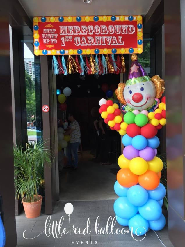 balloon columns singapore