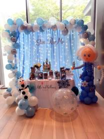 Frozen Dessert Table Styling