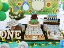 Totoro Dessert Table