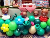 balloon centrepieces singapore